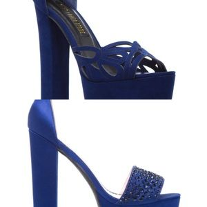 Shoes - 2 sexy Navy Heels Giveaway!!